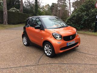 SMART FORTWO PASSION 2015 FREE FROM THE NEW ULEZ