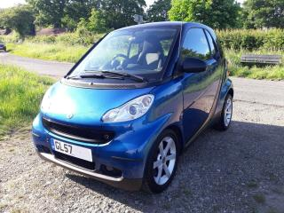 Smart ForTwo Pulse Auto,one lady owner, full Smart service history, only 58K
