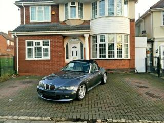 STEEL GREY 2001 BMW Z3 3.0 ROADSTER CONVERTIBLE VERY LOW MILEAGE STUNNING