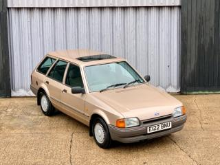 Stunning 1988 Ford escort 1.6gl *15,392 miles from new* Best you will find!