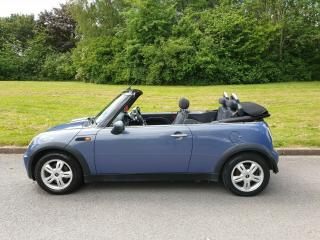 STUNNING 2005 '55' MINI ONE CONVERTIBLE 1.6 CABRIOLET*ONLY 77K MILES*FSH*L@@K