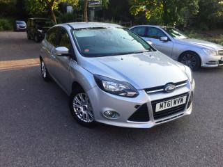 STUNNING 2011 FORD FOCUS TITANIUM 125 5DR 1.6, 49K MILES, FLAWLESS MINT BARGAIN