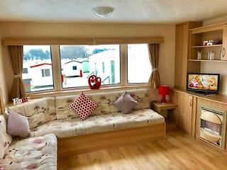 Stunning lettable caravan at cresswell towers for sale open 12 months low fees