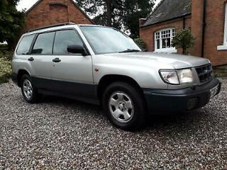 Subaru Forester 2.0 All Weather Pack auto GLS V reg 136k 29 services