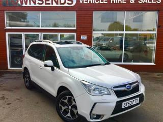 Subaru Forester XT 2.0T 240PS AWD Lineartronic Auto VG condition full spec