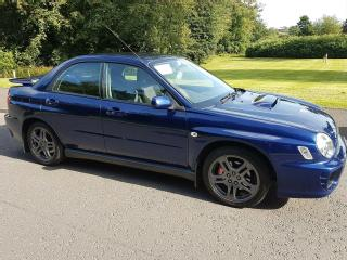 Subaru impreza wrx 2001 bugeye very low miles getting rare