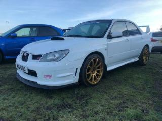 DEPOSIT RECEIVED Subaru Impreza WRX Hawkeye 2.5 White STi styling 56k miles