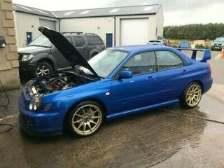 Subaru Impreza WRX Modified STI Upgrades 300bhp