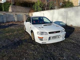 SUBARU IMPREZA WRX STI V4 Type R Coupe 2 door White 1998
