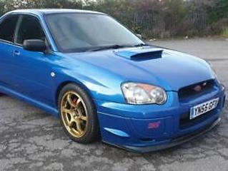 Subaru Impreza WRX Turbo 2005 modified Rotas, Coilovers STI looker