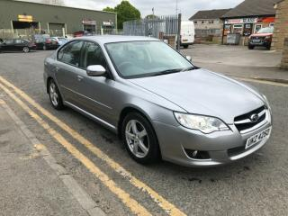 Subaru Legacy 2.0 R, Saloon, petrol, manual, 2007, 88500 miles, MOT april 2020