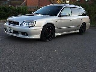 subaru legacy gtb estate jdm import not Impreza wrx modified