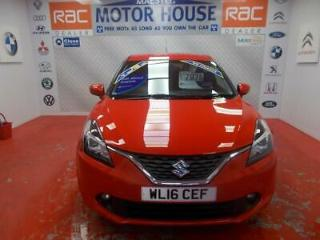 Suzuki Baleno SZ T BOOSTERJET 7606 MILES FREE MOTS FOR AS LONG AS YOU OWN THE C
