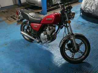 Suzuki gn 125 2004 Road legal long mot