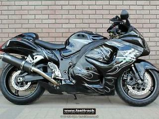 SUZUKI GSX1300 R HAYABUSA 2009 09 BLACK NATIONWIDE DELIVERY
