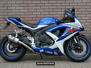 SUZUKI GSXR 750 K8 2009 09 BLUE NATIONWIDE DELIVERY