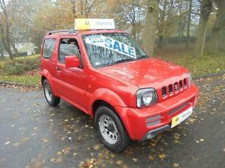 Suzuki Jimny 1.3 JLX RED 2006 SH, LOW MILEAGE 1 OWNER EXCELLENT EXAMPLE