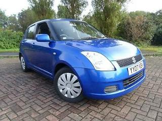 SUZUKI SWIFT 1.3 GL 5 DR 2007 07 REG BLUE
