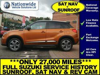 Suzuki Vitara 1.6 SZ5 ORANGE / BLACK SUNROOF + SAT NAV + URBAN PACK +LOTS MORE