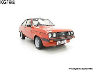 The Terracotta Warrior Ford Escort Mk2 RS2000 Custom in Immaculate Condition