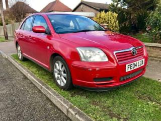 Toyota Avensis T3 S 5dr PETROL MANUAL 2004/04