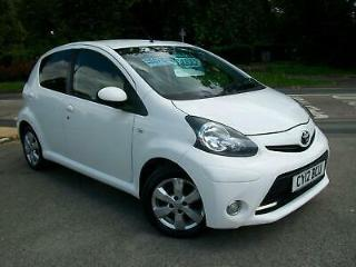 Toyota AYGO 1.0 AYGO Fire 5dr WHITE £0 ROAD TAX