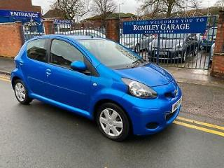 Toyota AYGO 1.0 VVT i Blue 5 Door