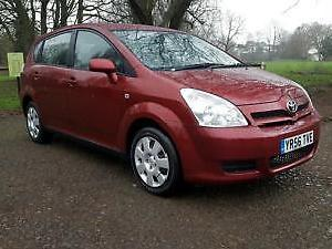 Toyota Verso 1.8 VVT i T2 7 SEATER. METALLIC REGENCEY RED. FULL SERVICE HISTORY