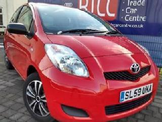 TOYOTA YARIS 1.0 VVT I T2 3DR 2010*£30 ANNUAL TAX ONLY DONE 77K MILES*HPI CLEAR