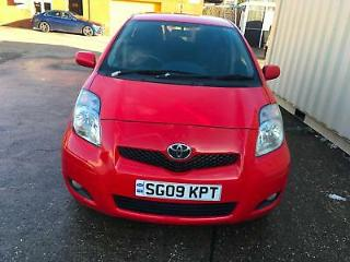 Toyota Yaris 1.33 VVT i 2009MY SR 5door millege 97233 on the clock