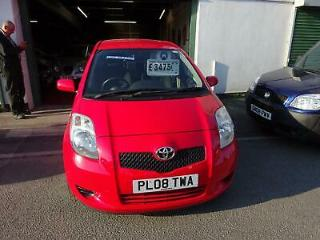 Toyota Yaris 1.3 VVT i TR 5 door 38,000 MILES 4 SERVICES,2 OWNERS