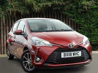 Toyota Yaris 2018 1.5 VVT i Icon Tech 5dr Hatchback