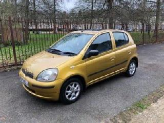 Toyota Yaris Automatic 1.4l 2000 5 Door