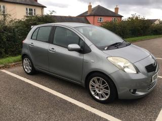 Toyota Yaris SR D4D turbo diesel high spec, very economical