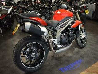 TRIUMPH SPEED TRIPLE S 6986 MILES