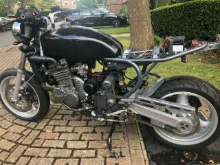 Triumph 900 Triple CRK Cafe Racer Kit. Project. Simple job to finish