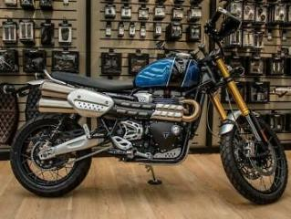 TRIUMPH SCRAMBLER XE NOW WITH FREE GO PRO HERO 7