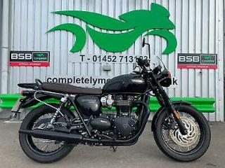 TRIUMPH T120 BLACK 2018 LOVELY EXAMPLE