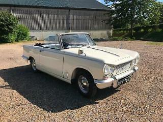 Triumph Vitesse 1600 Convertible 1965 Matching Numbers Factory Convertible!