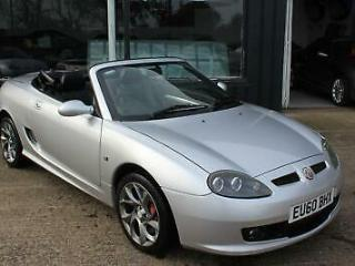 TROPHY CARS MG MGTF LE,TWISTED PEPPER WHEELS,FSH,NEW BELT&PUMP, 1YR WARRANTY,RAC