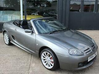 TROPHY CARS MGF MGTF 160,HALF LEATHER,47K,NEW HEADGASKET,BELT&PUMP,1YR WARRANTY