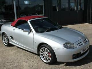 TROPHY CARS MGF MGTF 80TH ANNIVERSARY,63000 MLS,HEADGASKET,BELT&PUMP,WARRANTY