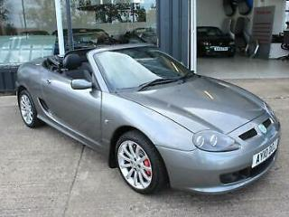 TROPHY CARS MGF MGTF LE,ONLY 7000 MILES,IMMACULATE CONDITION,NEW BELT&PUMP,RAC