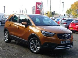 VAUXHALL 1.2 16V TURBO 130PS TECH LINE NAV 5DR AMBER