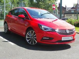 VAUXHALL 1.4 16V TURBO 150PS GRIFFIN 5DR LAVA RED