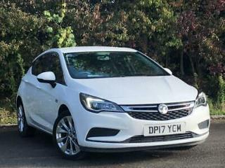 VAUXHALL 1.6 CDTI 110PS DESIGN 5DR WHITE