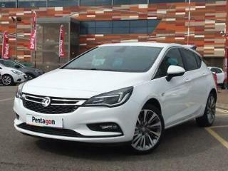 VAUXHALL 1.6 CDTI 136PS GRIFFIN 5DR SUMMIT WHITE