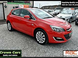 VAUXHALL 2.0CDTi 16v ELITE 2013 RED +TOTALLY STUNNING EXAMPLE THROUGHOUT