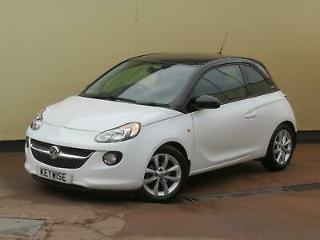 VAUXHALL ADAM 1.2 VVT 16v JAM 2014 14 WITH ONLY 32,198 MILES & ONE OWNER