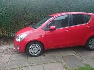 Vauxhall agila low mileage